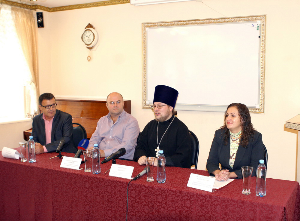Пресс-конференция, посвященная открытию в Вятской епархии церковного диспетчерского центра связи для глухих и слабослышащих