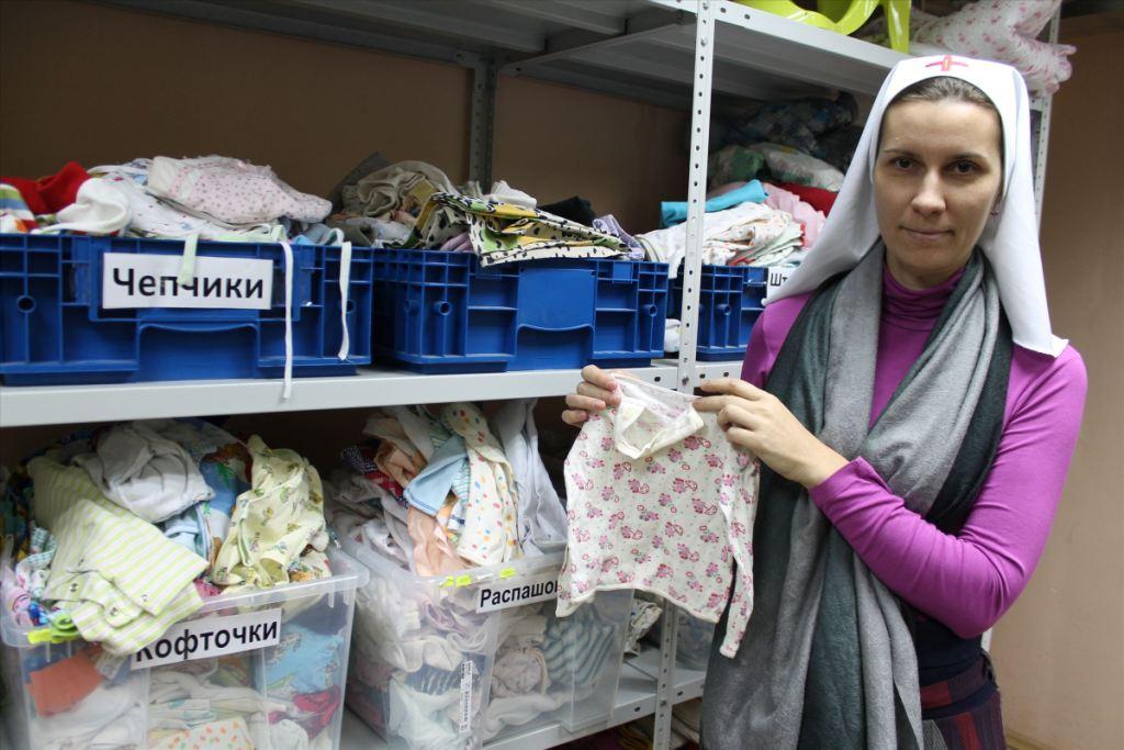 В центре гуманитарной помощи православной службы Милосердия Екатеринбургской епархии