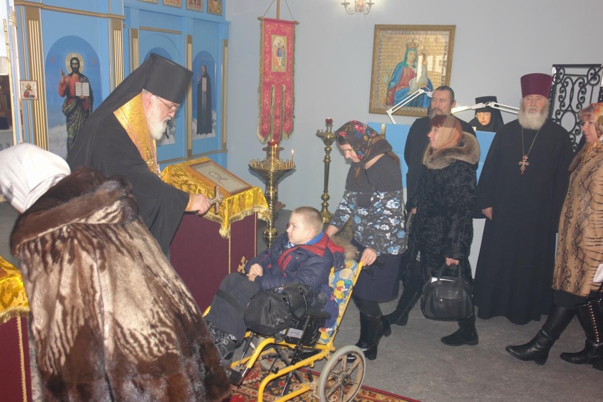 В Сарапуле состоялся Открытый епархиальный съезд родителей детей-инвалидов