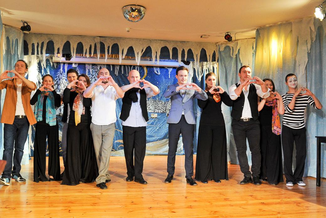 Рождественская встреча глухих и слабослышащих прошла в Москве
