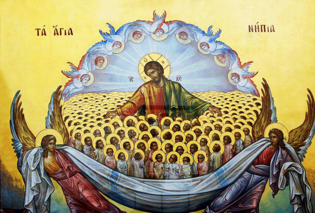 Образ святых Вифлеемских младенцев