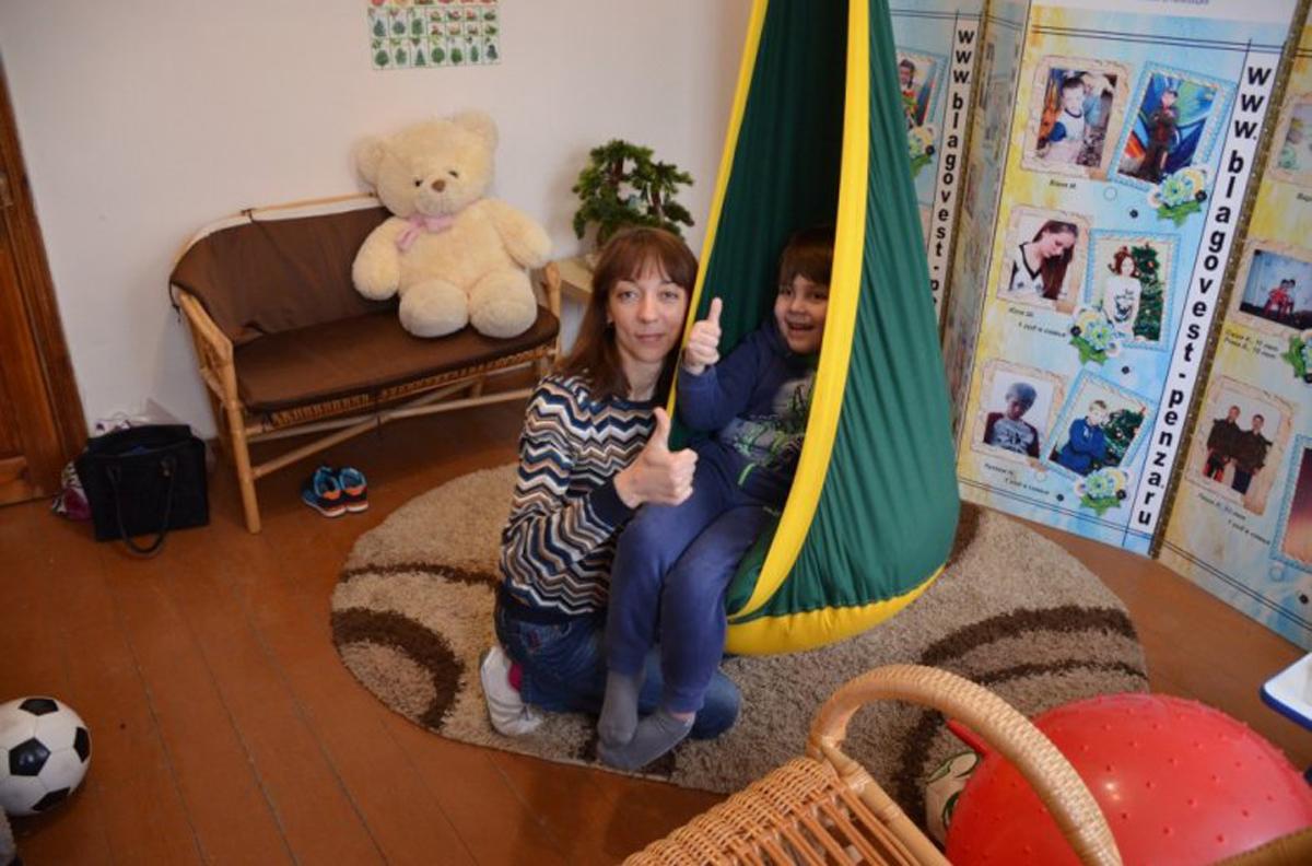 В арт-холле «Квартал Луи» в Пензе организуют занятия для детей с аутизмом