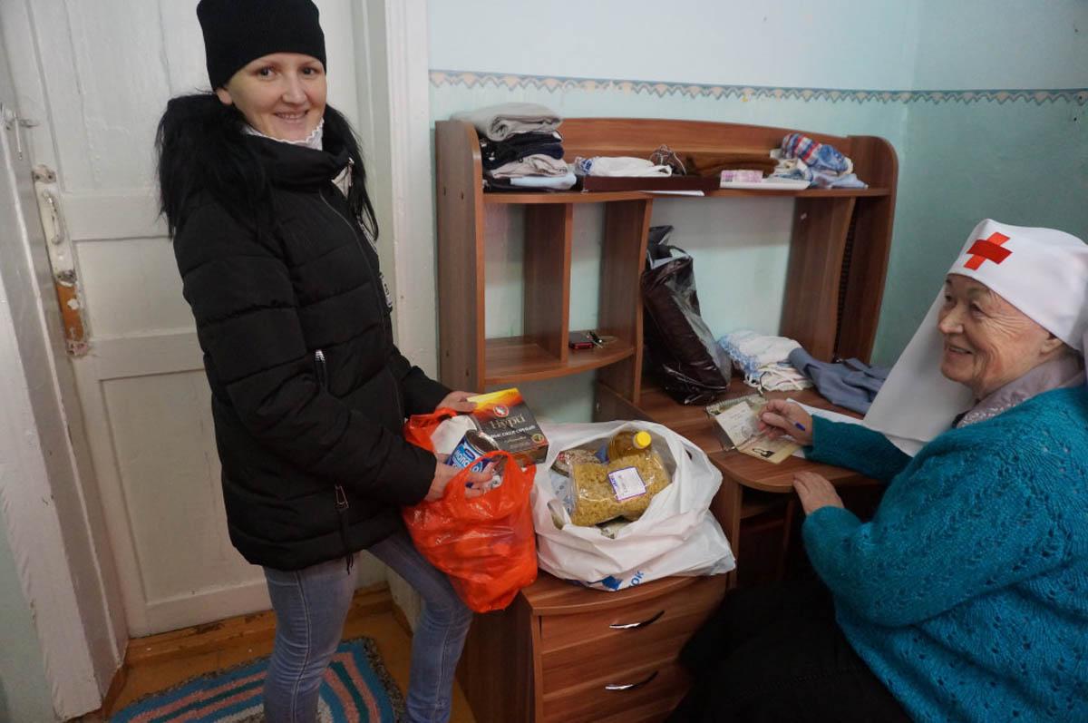 В Сарапуле открылся склад гуманитарной помощи для женщин в трудной жизненной ситуации