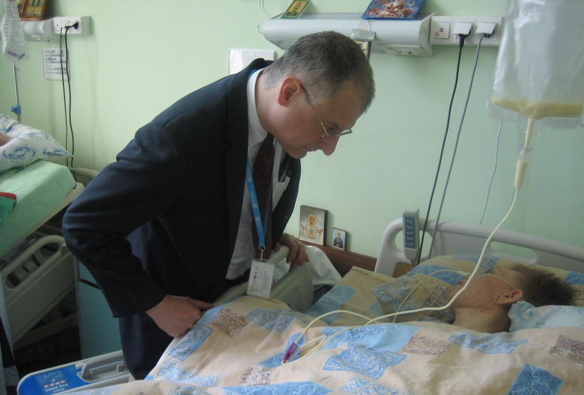 Больницу Святителя Алексия посетила делегация ВОЗ
