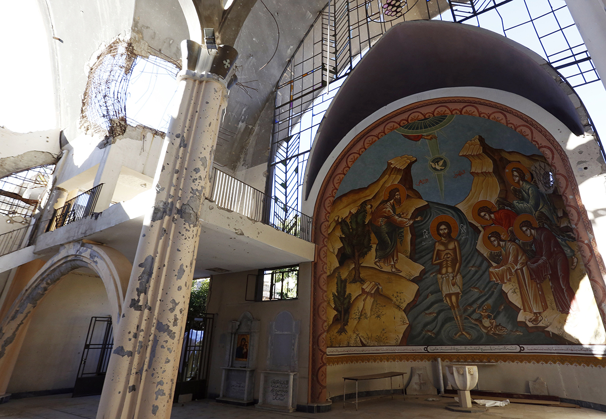 При содействии Отдела внешних церковных связей православным христианам Сирии доставлена гуманитарная помощь