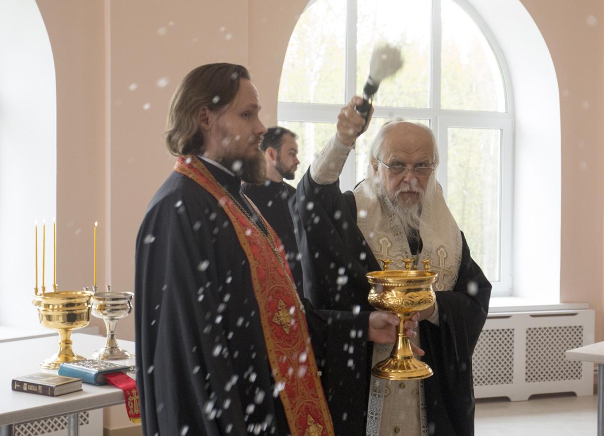 Епископ Пантелеимон освятил Елизаветинский детский хоспис в Истринском районе