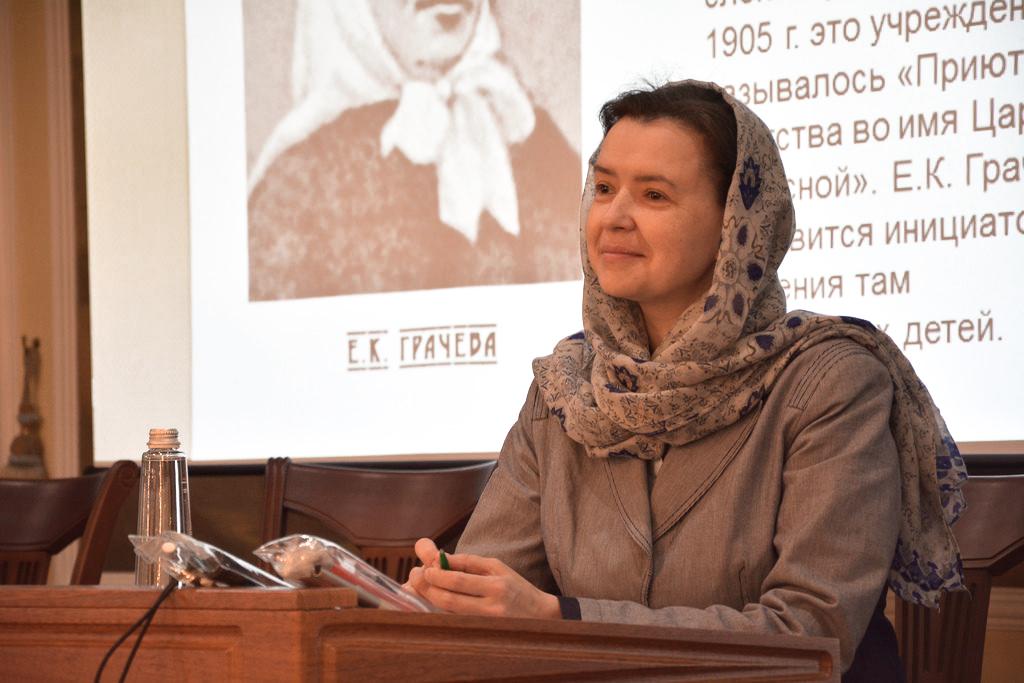 Руководитель направления по работе с инвалидами Синодального отдела по благотворительности Вероника Леонтьева