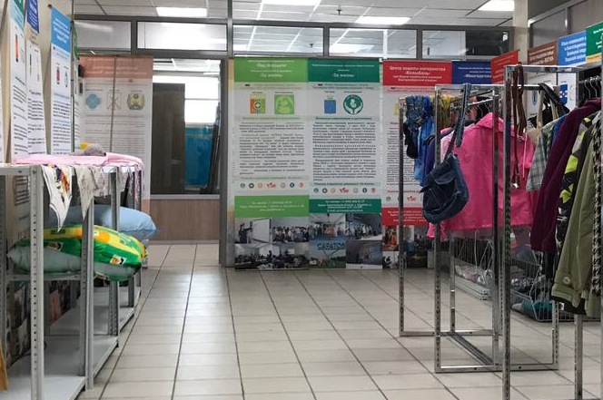 При участии Церкви в Москве открыт новый гуманитарный склад для помощи женщинам в кризисной ситуации