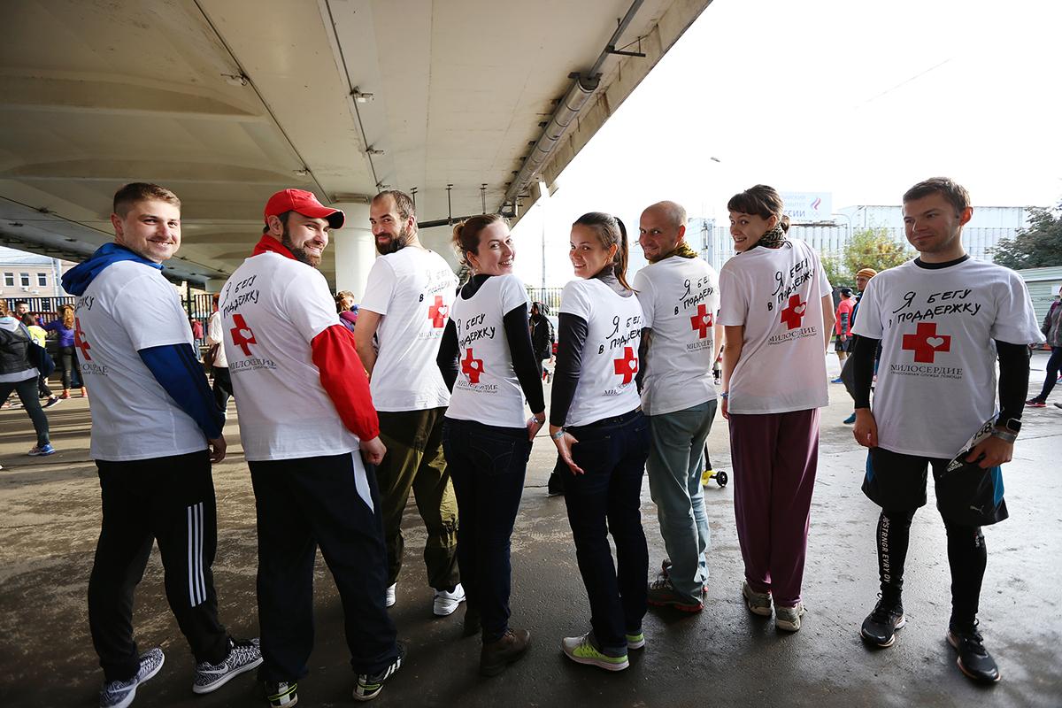 «Московский марафон»: москвичи смогут участвовать в забеге в пользу инвалидов и бездомных