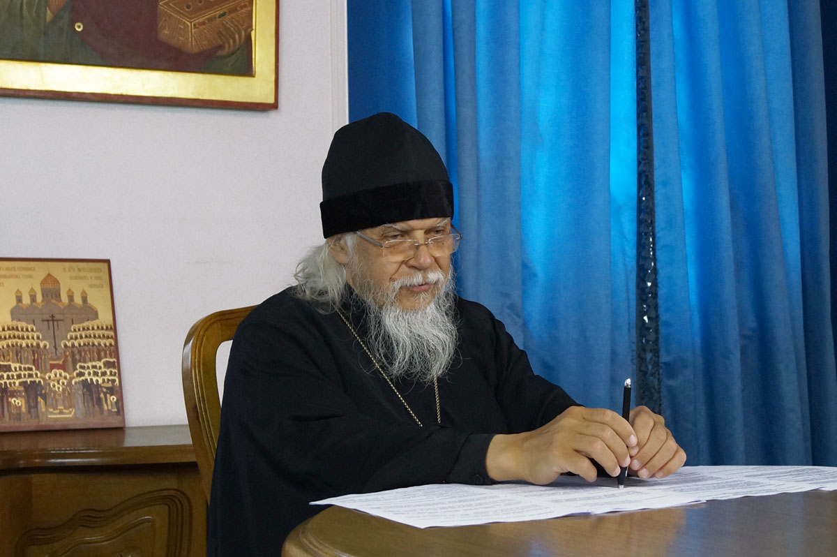 Епископ Пантелеимон провел онлайн-совещание с руководителями социальных отделов епархий