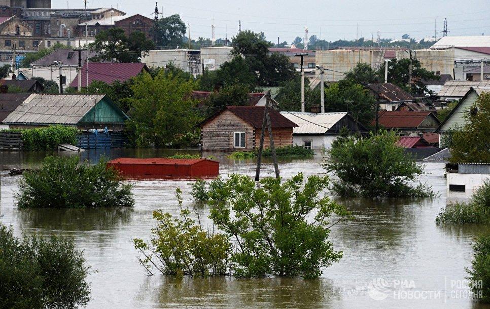 В Приморском крае Церковь организовала сбор помощи пострадавшим от наводнения