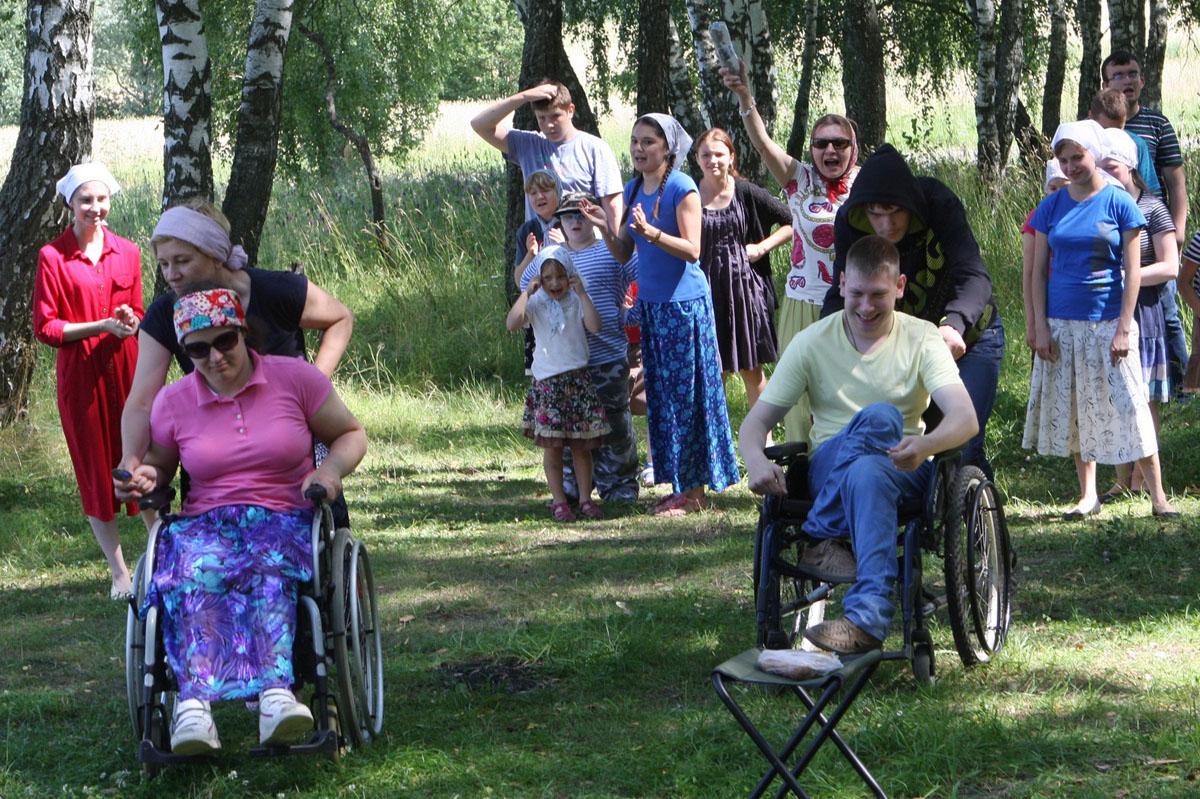 В Калужской епархии организовали летний инклюзивный отдых для детей с особенностями развития