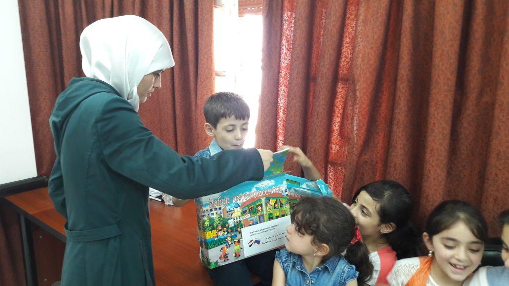 В Сирию прибыла вторая партия совместной помощи от российских религиозных организаций
