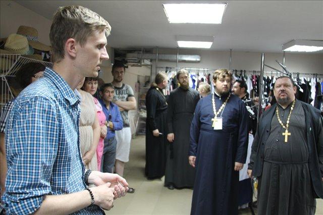 Участники курсов в епархиальном центре гуманитарной помощи