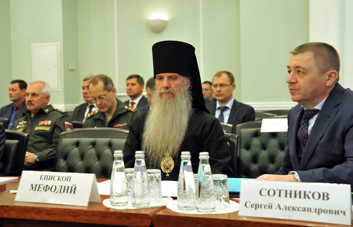 Представитель Церкви принял участие в заседании Государственного антинаркотического комитета