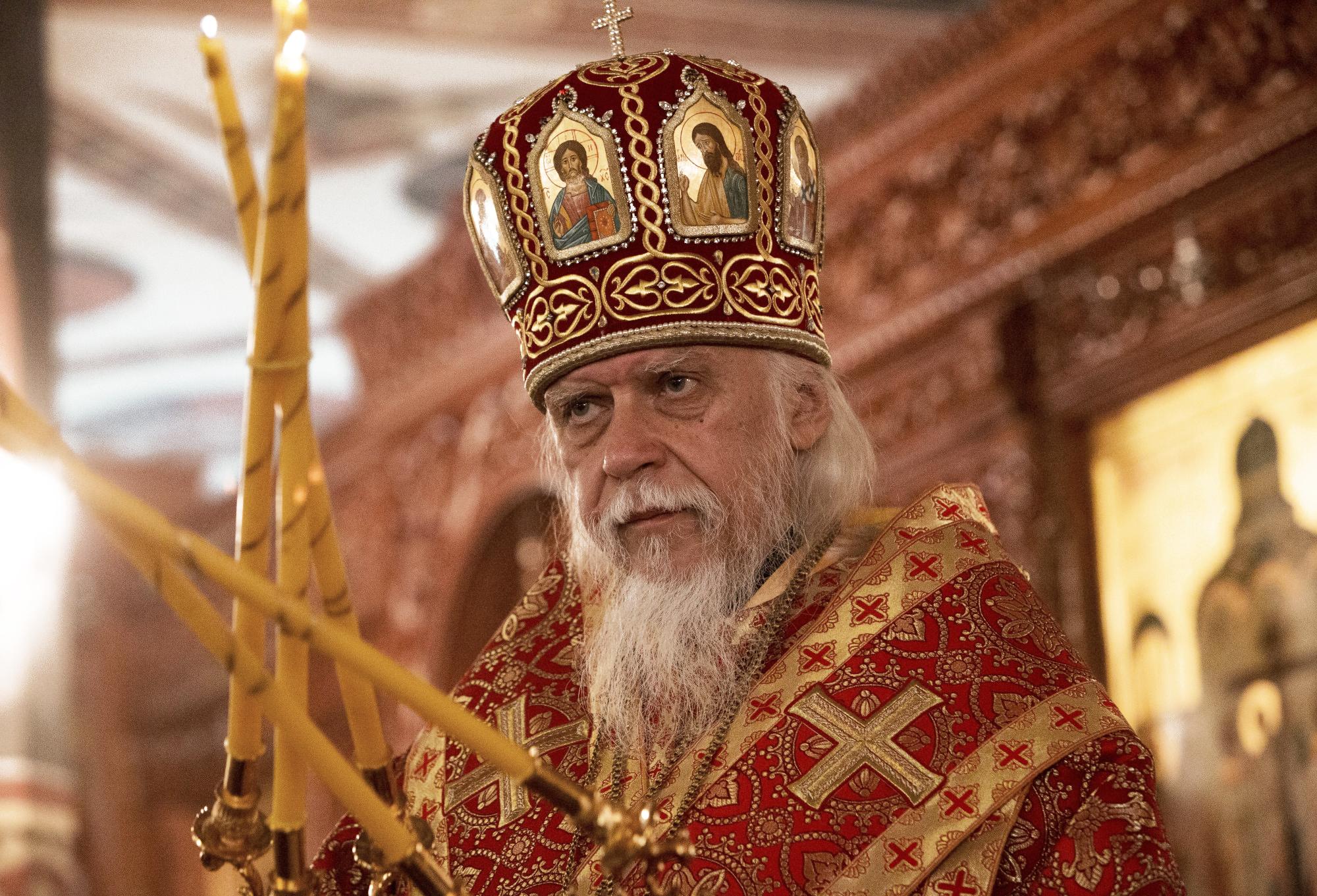 Богослужение в храме новомучеников и исповедников Российских в Бутово. Фото: Павел Смертин