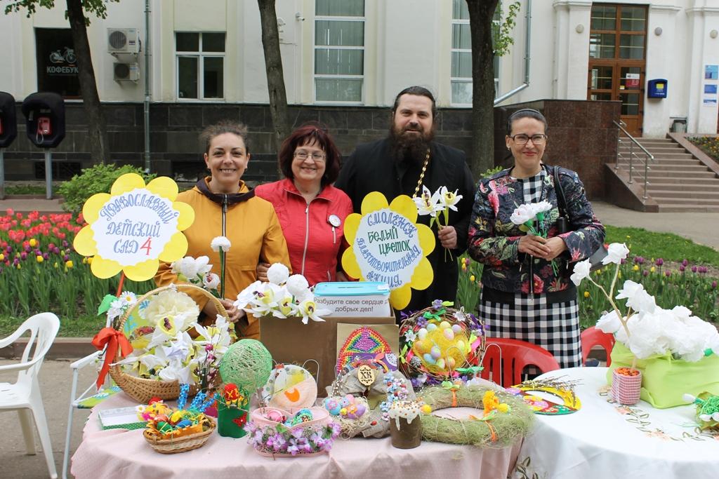 Православный детский сад №4 в Смоленске был организован по благословению митрополита Смоленского и Калининградского Кирилла (ныне Святейшего Патриарха) в 2007 году