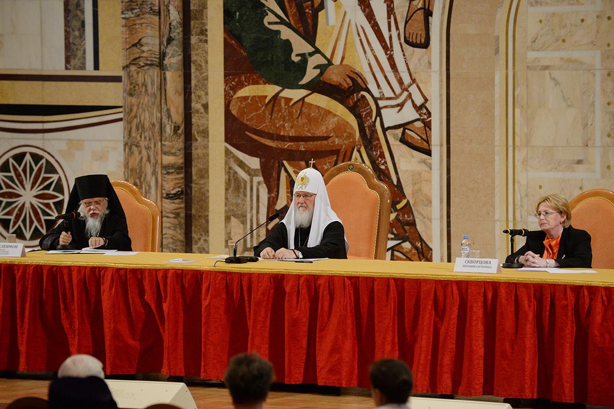 Патриарх Кирилл призвал к благотворительности «не по принуждению»