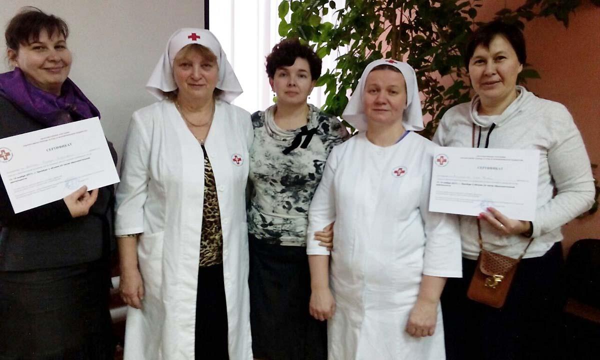 Московские сестры милосердия поделились опытом ухода за паллиативными больными