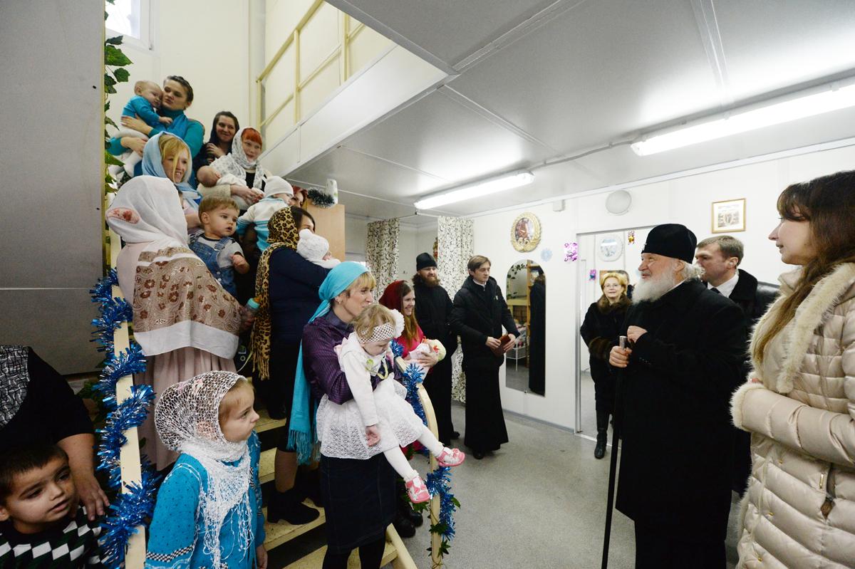 Святейший Патриарх Кирилл: каждый приход должен быть местом совершения добрых дел