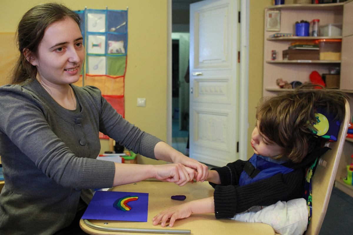 В России появился первый бесплатный ресурсный центр для родителей детей с ДЦП
