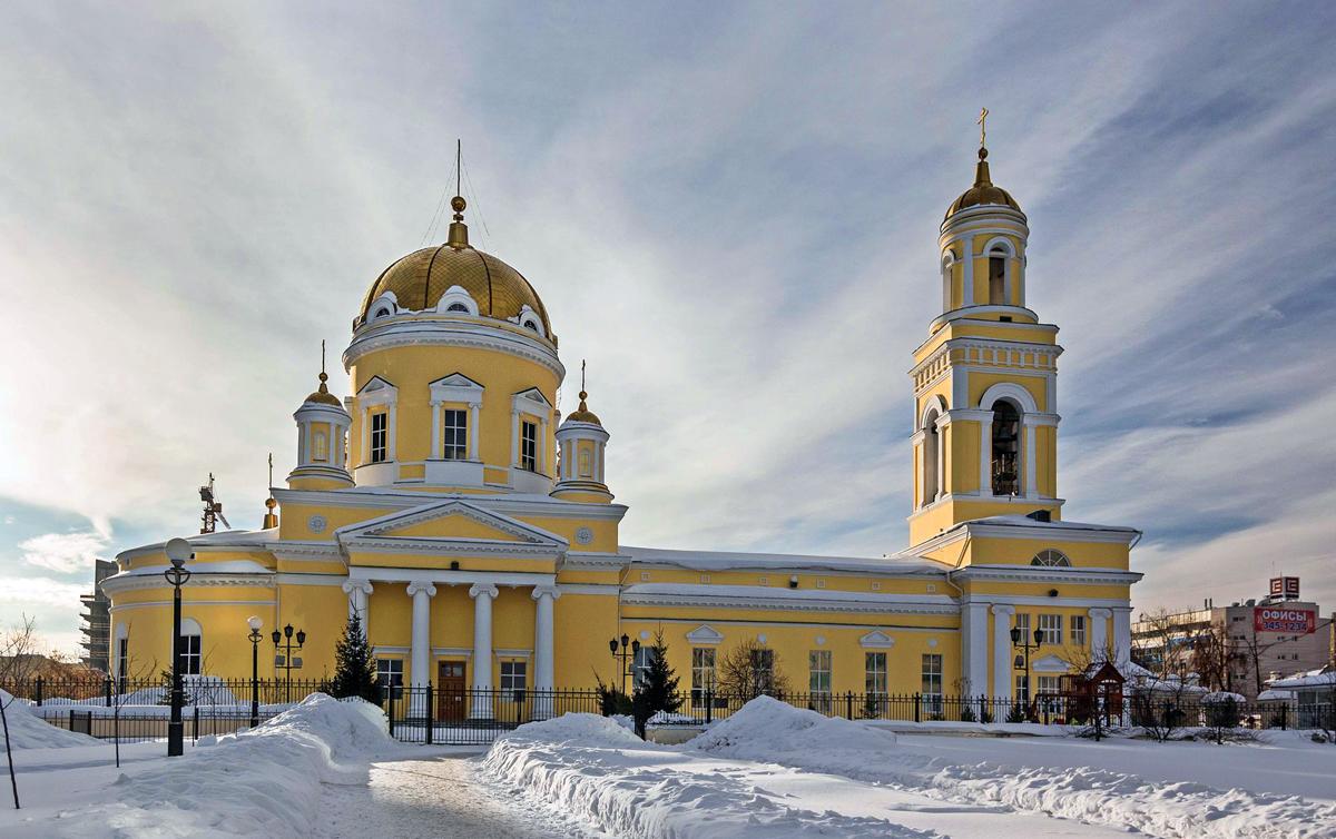 Свято-Троицкий кафедральный собор Екатеринбурга