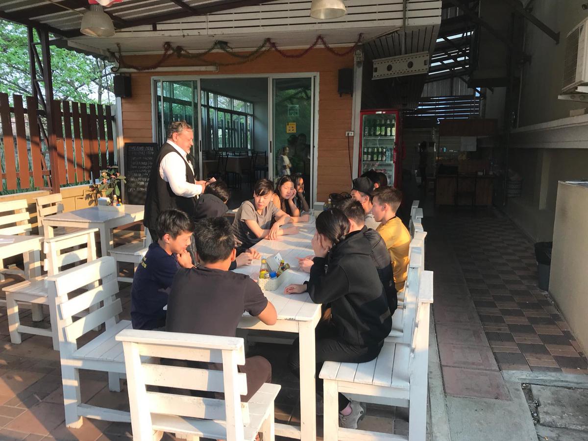 Группа школьников из Якутии в Таиланде