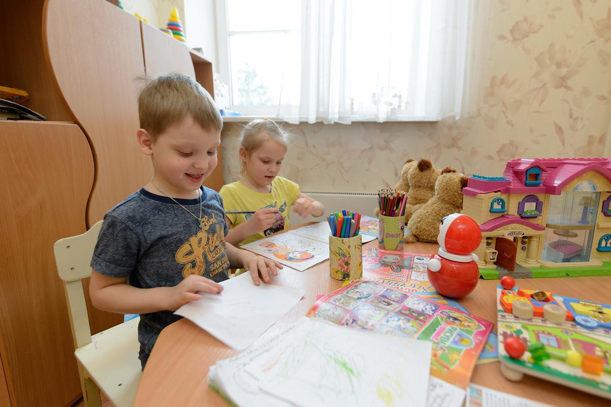Альтернатива детскому саду: особых детей готовы принять в Свято-Димитриевском центре