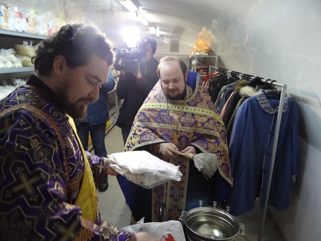 В Калужской епархии открыт пункт гуманитарной помощи «Милосердный самарянин»