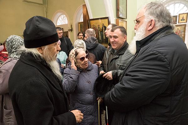 Посещение общины слепых и слепоглухих при храме святой блаженной Ксении Петербургской в Сарапуле