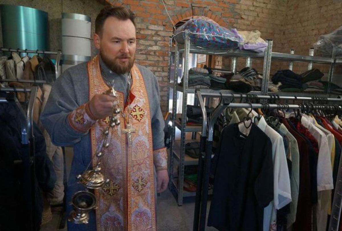 В Черняховской епархии открылся центр гуманитарной помощи