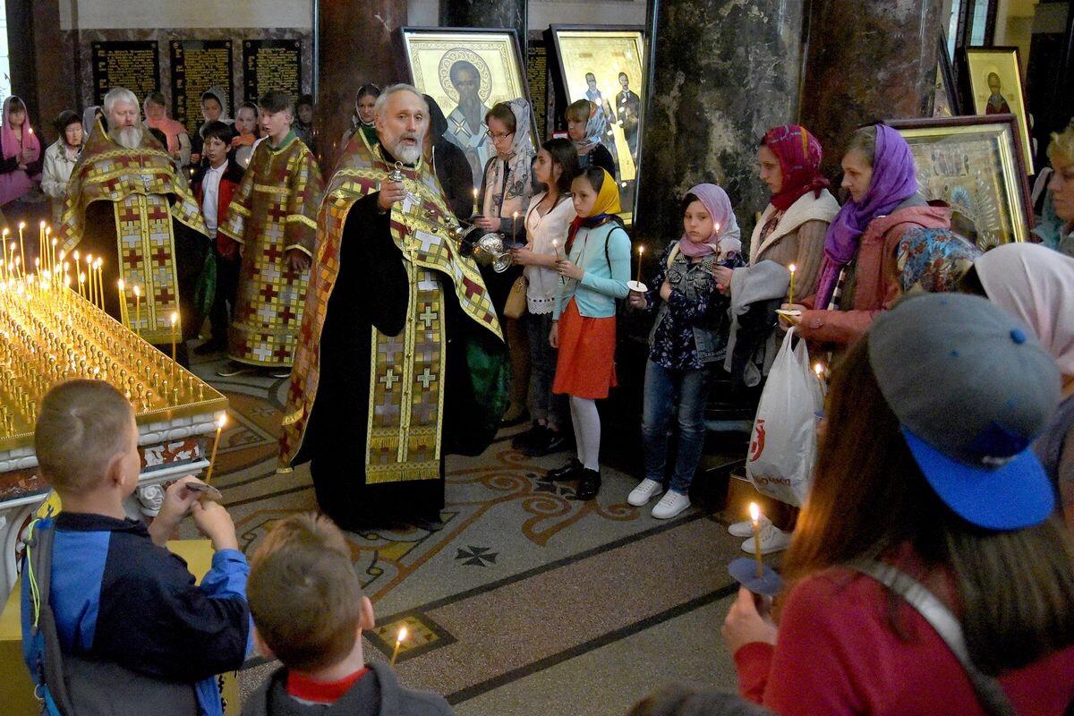 Санкт-Петербургская епархия организовала праздник для детей погибших военных