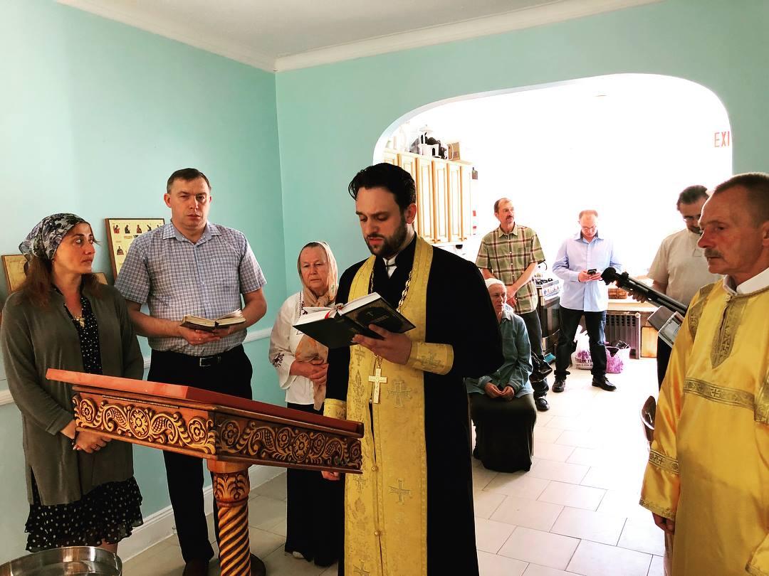 Первая Литургия совершена в «Доме трудолюбия» для бездомных Нью-Йорка, созданном при участии Церкви