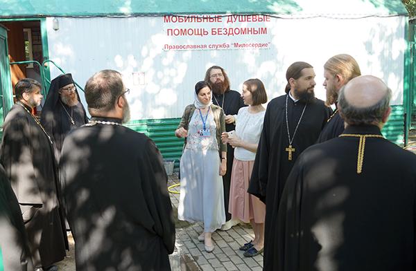Представители Православной Церкви в Америке познакомились с социальным служением Русской Церкви