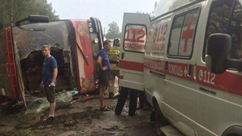 Церковь помогает пострадавшим в ДТП в Домодедовском районе