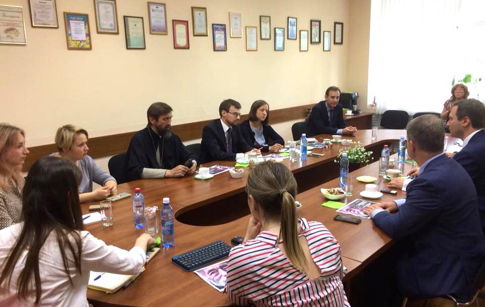 Выездное заседание рабочей группы Совместной Комиссии Русской Православной Церкви и Министерства здравоохранения России в Иркутске