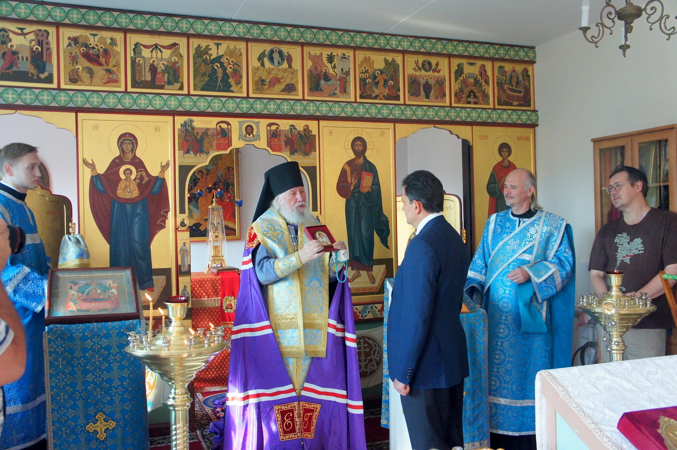 В Онкоцентре им. Блохина освятили обновленный храм
