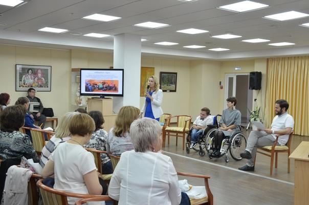 Руководитель направления помощи людям с инвалидностью Пензенской епархии, член Общественной палаты Российской Федерации Мария Львова-Белова