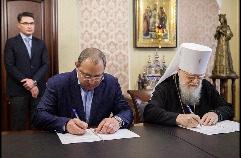 Кубанская митрополия и Минздрав Краснодарского края подписали соглашение о сотрудничестве