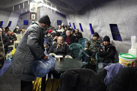 Центр помощи бездомным «Ангар спасения»