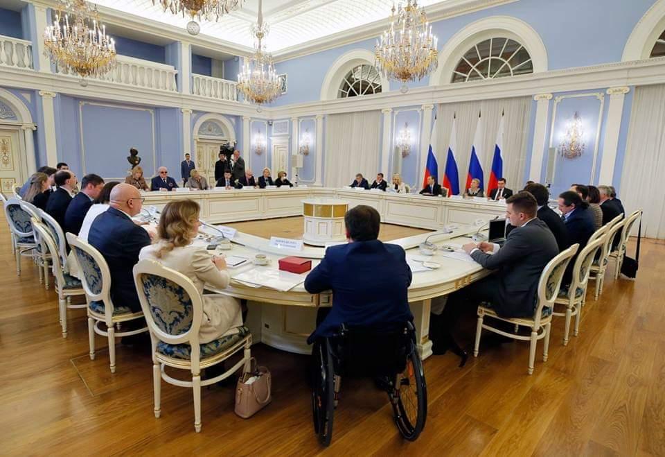 Встреча представителей общественных организаций с Дмитрием Медведевым