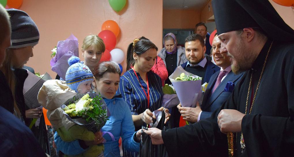 Церковь откроет 13 новых приютов для женщин в кризисной ситуации и 57 центров защиты материнства