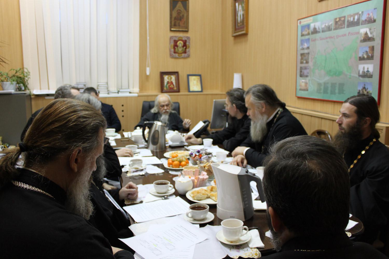Заседание Комиссии по больничному служению регулярно проходит в больнице святителя Алексия