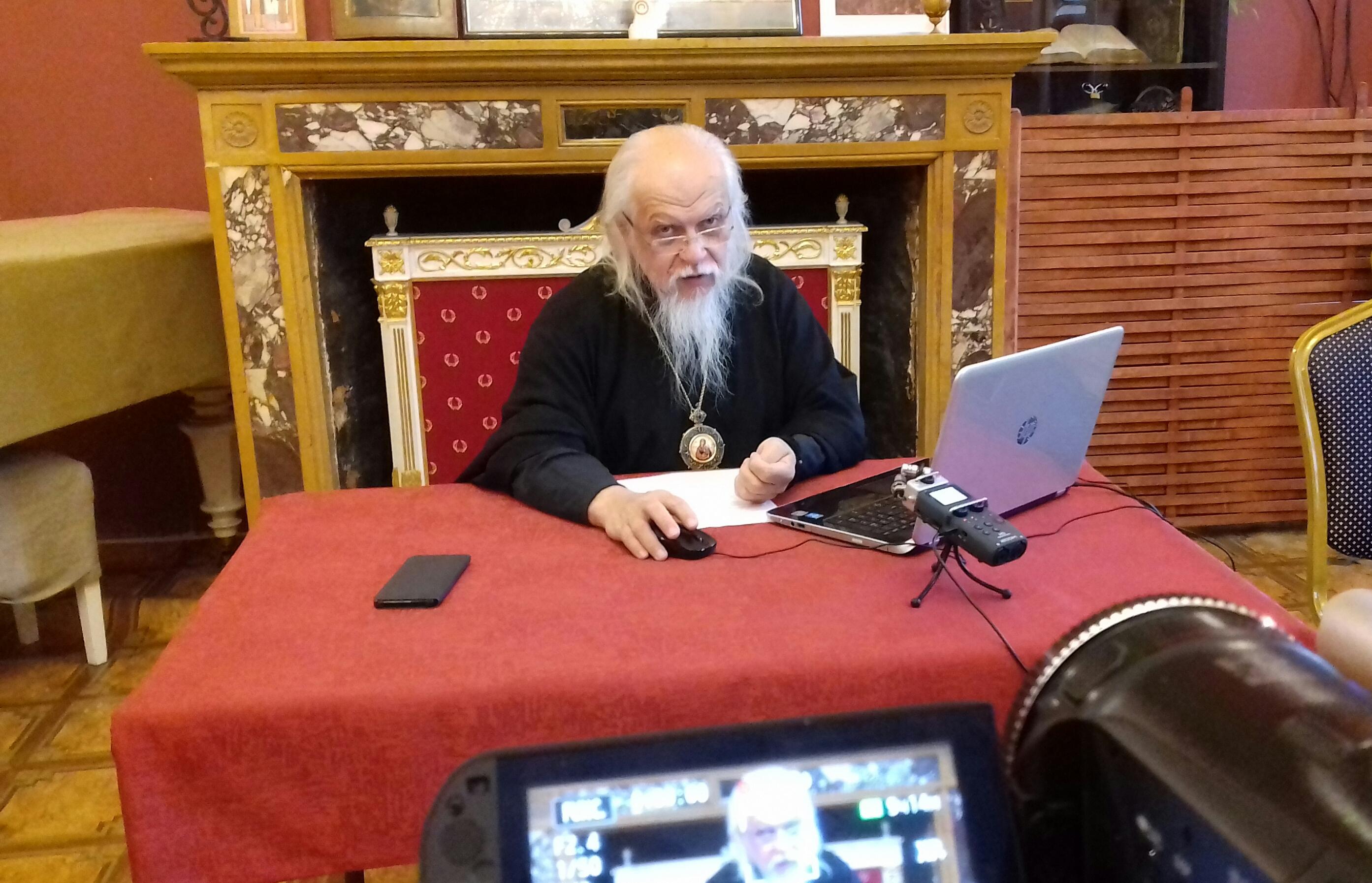 Первый вебинар нового курса по церковной социальной работе прошел в стенах храма царевича Димитрия