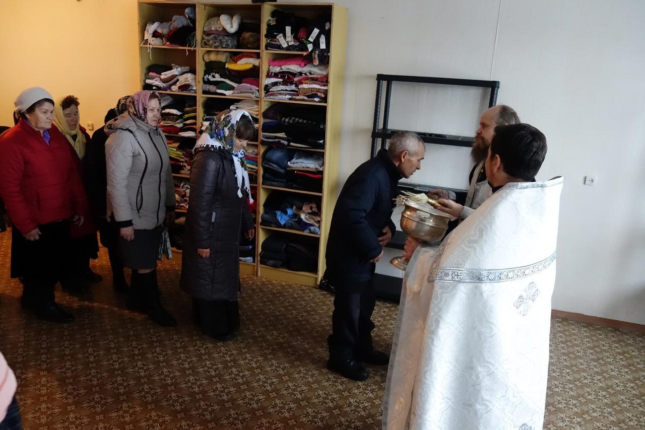 В Отрадненской епархии отрылись три центра гуманитарной помощи