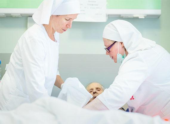В московской больнице Святителя Алексия открывается новое паллиативное отделение