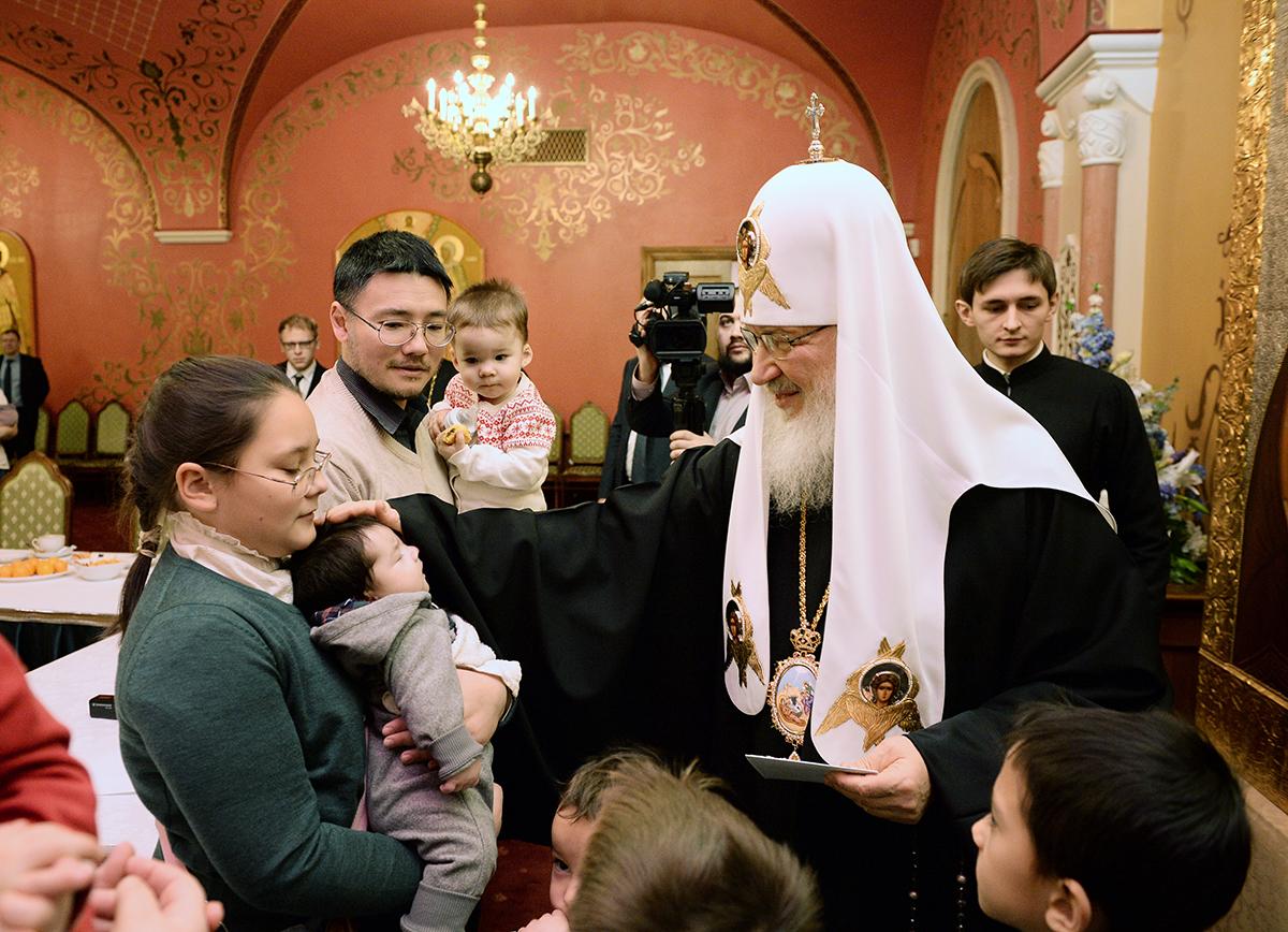 В Церкви выступили с предложениями по поддержке многодетных семей