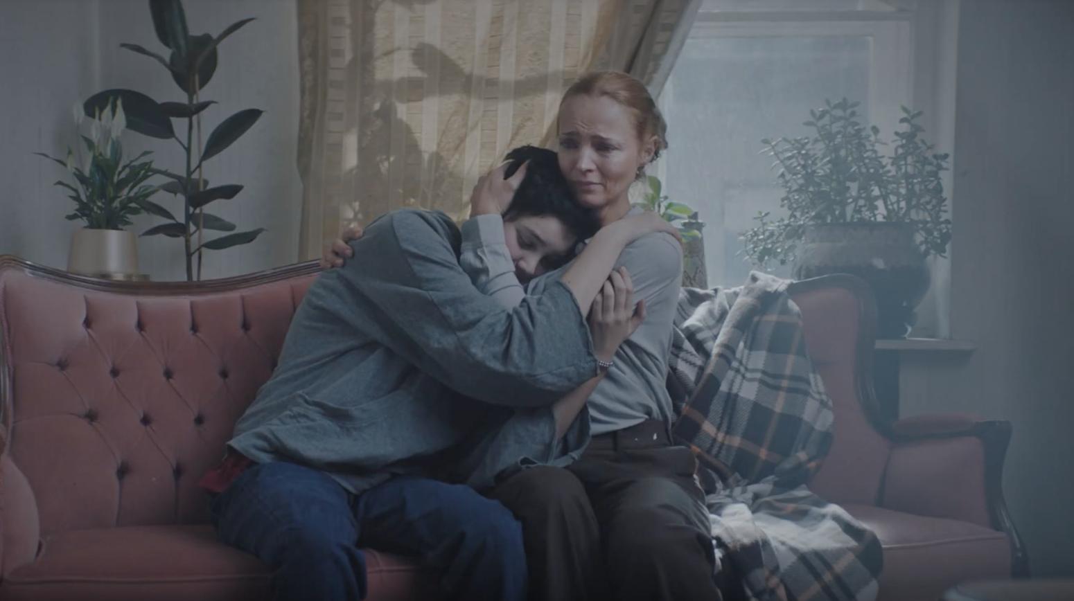 Кадр из 4-х минутного социального ролика Валерии Германики