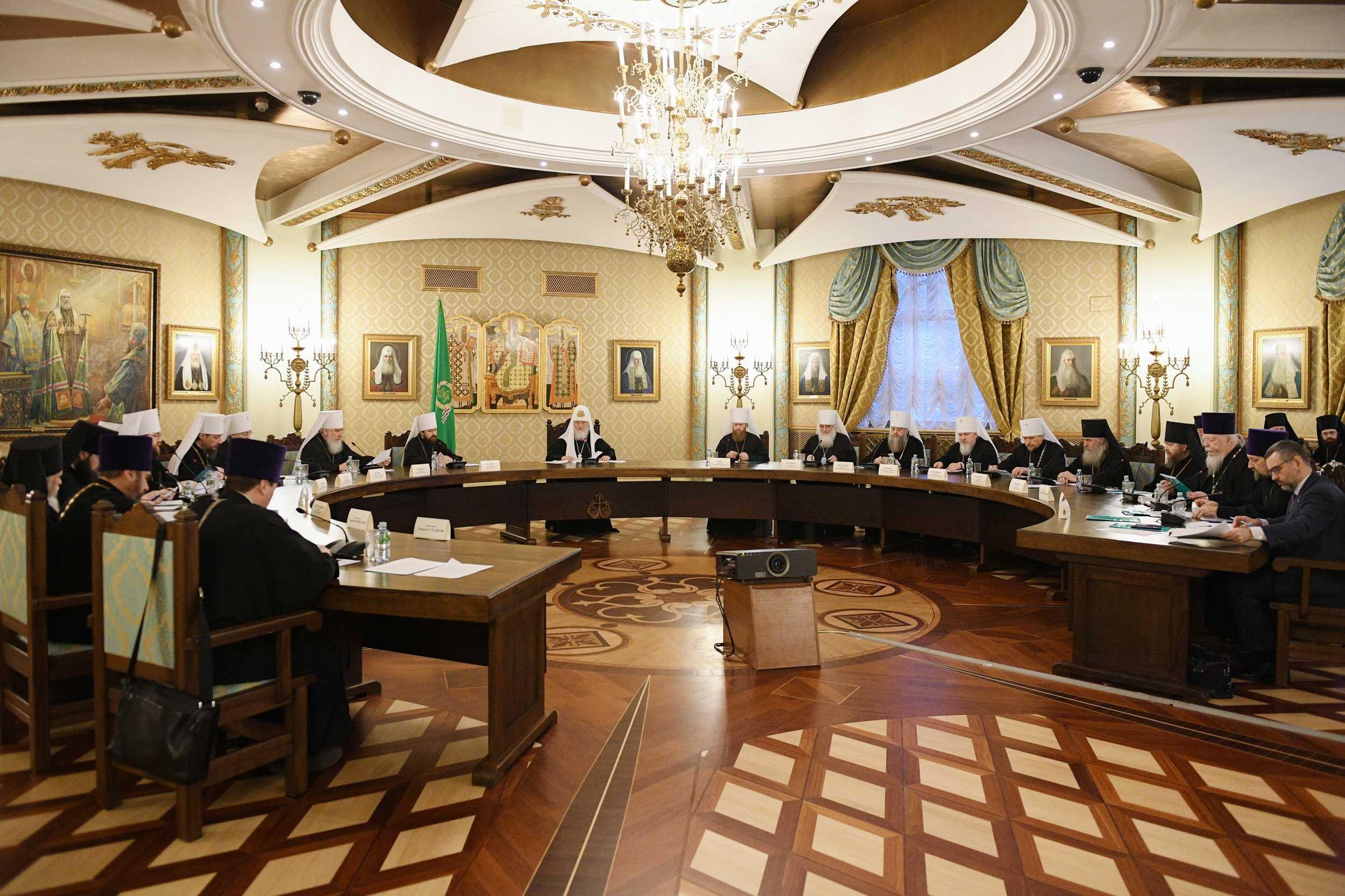 Заседание Высшего Церковного Совета. Фото: Сергей Власов