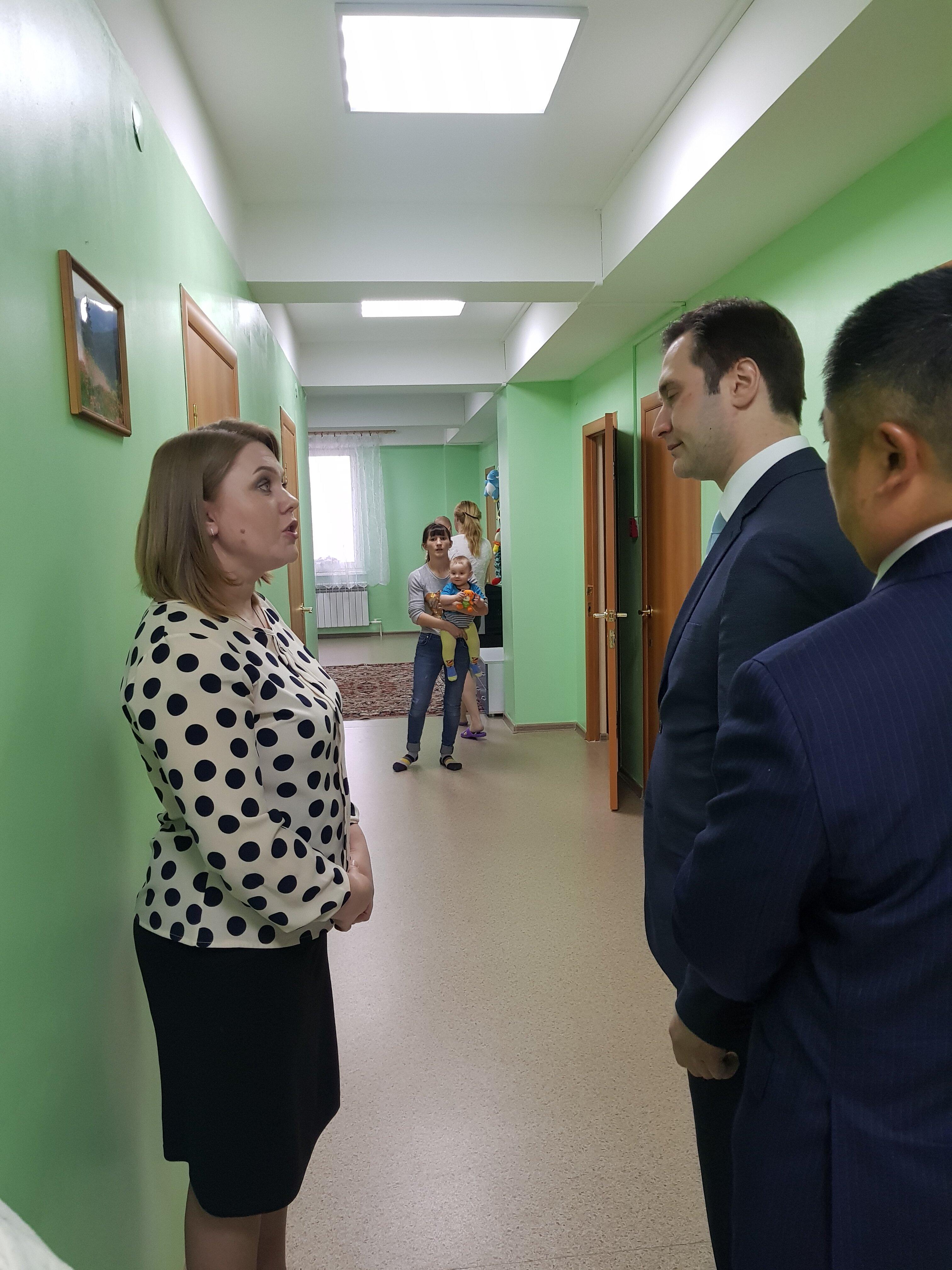 Замминистра здравоохранения России посетил церковный приют для женщин в Южно-Сахалинске